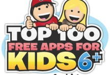 AGES 6+ Apps / Find our Top Picks for kids apps (4 1/2 - 5 stars) along with other great apps to check out. Explore learning and fun with kids using technology! / by Smart Apps For Kids