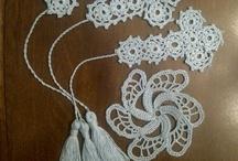 crochet crosses, bookmarks / by Joy Allen
