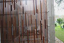 围栏、栅栏、栏杆、扶手、门 / by cui kenneth