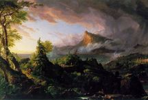 """""""Course"""" / images/links for thomas cole inspired play / by Samantha Cooper"""