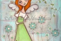 angels / by Anahit Karakhanyan