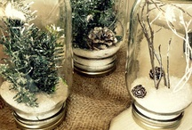 Mason Jar Holidays / Using mason jars to decorate for the holidays / by Mason Jar Crafts {love!}