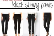 Fashion: Pants, Jeans & Leggings / by Claire Chadwick