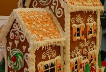 Christmas- Gingerbread Houses / by Tylar Pattie