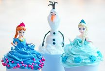 Disney FROZEN Party Ideas / All the great #FROZEN Party Ideas! #Party #FrozenParty #Anna #Elsa #Olaf / by Rachel Bubbly Nature Creations