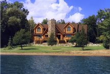 Cottage/Summer Home/Log Cabin ideas / by Trudi Ross