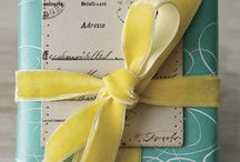 Dazzling Wrappings / packages / by Mona Garvin