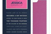 Bat mitzvah / by Lauren L