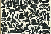 Black cat / by Satoe Suganami