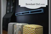Furniture/ House DIY  / by Kristen Gardner