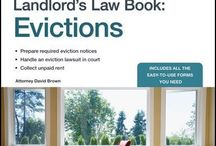 RE  Rental/Evictions/Calif. / by Necia Shelton