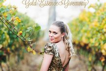 Gold Essence Inspiration / by Irina K