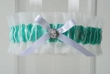 Tiffany Blue Wedding Garters + Things to Match / by LaGartierWeddingGarters