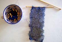 Pointystix & Yarn Make Pretties / We Knit Because We Can / by Making Believe
