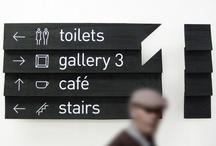 Signage / by Krohn Interiørarkitekter
