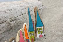Driftwood and sea glass / by Laura Porter
