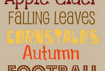 Fall Holidays / by Connie Huntington