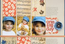 Scrapbooking - Fall / Seasonal scrapbook ideas for fall and autumn pages. / by Spotted Canary