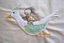 embroidery inspiration / by Kristen Stromski-Shaw