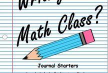 Math Interactive Notebooks / by Melissa Hocherl