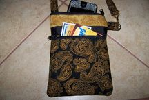 Handbags,purses,Gadget Cases pdf pattern / Bags to Make pdf patterns, gadget case,ipod case,ipad case, / by Adorie Rhodes
