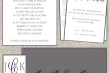 Wedding Designs / by Matinae Design Studio