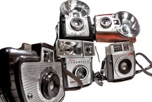 Vintage Cameras / Collection of vintage cameras.. That's it. / by Brandon Jennings