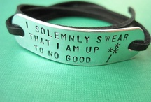 i solemnly swear that i am up to no good / by AMELIA REEVES
