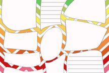 organization sheets / by Sheila Davis