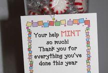 volunteer gift ideas / by Teresa Hutson