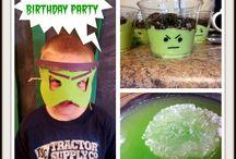 Hulk bday party / by Ashley Abercrombie
