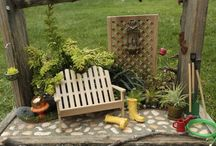 Mini gardening / by Debby Blundell Johnson