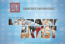 Library Artist brochure / Sara Drescher-Braswell  / by Midland County Public Library