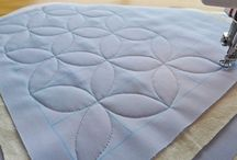 Machine Quilting / Tutorials and ideas for machine quilting techniques and designs / by Amy Blanchard