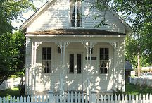 A Trip Down Cottage Lane...The Little White Cottage. / by Avis Blowers