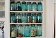 Vintage mason jars / by Kara Christensen