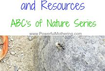 Learning With & Through Nature / Fun and educational activities in nature or using nature for kids. / by Nature Rocks