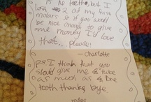 Letters to the Tooth Fairy / by Briggs Family Dentistry