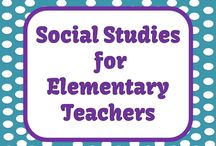 Social Studies for Elementary Teachers / Social Studies lessons, ideas and freebies for Kindergarten to 6th grade teachers.  / by Fern Smith