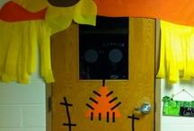 door/wall displays / by Nicole Suarez