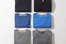Tried & True Crews / Go-to crew tees and sweatshirts are the wardrobe staples you turn to time and again. http://staging.alternativeapparel.com/featured/tried-and-true-crews/ / by Alternative