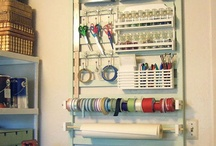 dream craft sewing room / by Zizi Bright
