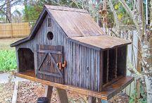 Bird houses  / by linda Wonderly