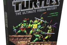 Teenage Mutant Ninja Turtles: The Ultimate Visual History / Teenage Mutant Ninja Turtles: The Ultimate Visual History by Andrew Farago is the complete, never-before-told story of the enduring franchise—from their humble beginnings in black-and-white comics to their multimillion-dollar breakout success.  / by Insight Editions