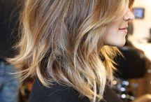 Med length hair / by Lola Smith