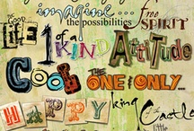 art journaling / by Cindy Arnold