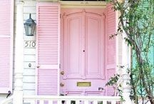 Pretty in Pink / by Hooked on Houses
