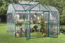 Greenhouse Ideas / by Bernadette Fox