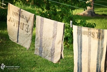 Laundry and Linens / by Claire Miles