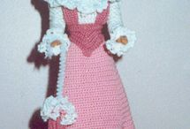 Barbie doll clothes and etc. / by Janet McKenney